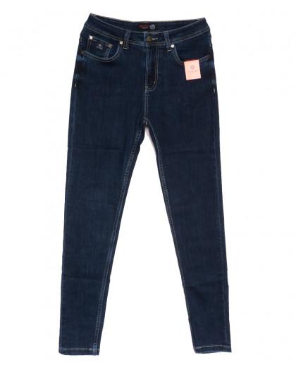 0505-2 А Relucky джинсы женские полубатальные синие осенние стрейчевые (31-38, 6 ед.) Relucky