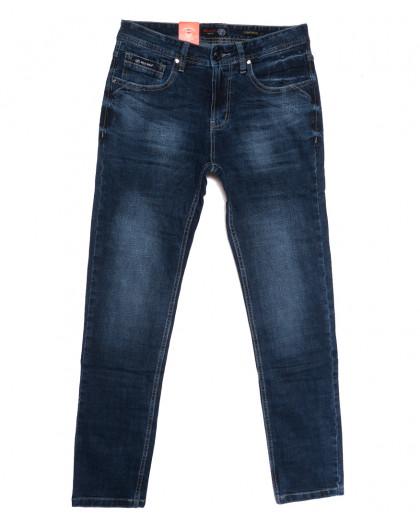 0913-3 R Relucky джинсы мужские синие осенние стрейчевые (29-38, 8 ед.) Relucky