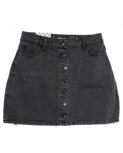 0773 серая Redmoon юбка джинсовая осенняя коттоновая (25-30, 6 ед.) REDMOON