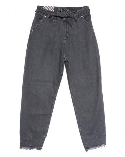 0844 Redmoon джинсы-баллон серые осенние коттоновые (25-30, 6 ед.) REDMOON