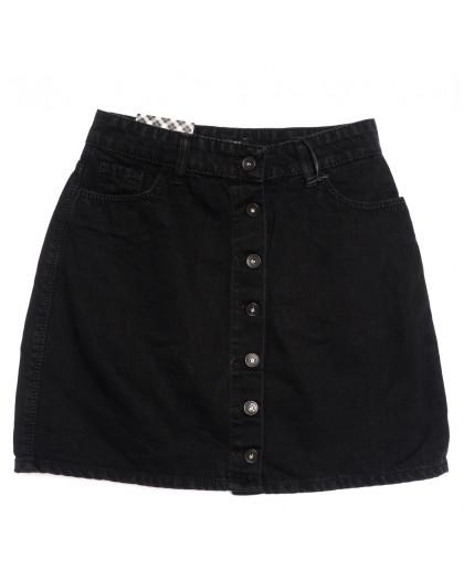 0773 черная Redmoon юбка джинсовая осенняя коттоновая (25-30, 6 ед.) REDMOON
