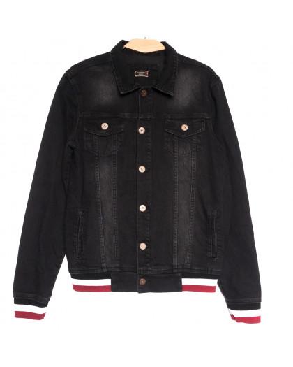 0371 Redmoon куртка джинсовая мужская темно-серая осенняя коттоновая (S-XL, 4 ед.) REDMOON