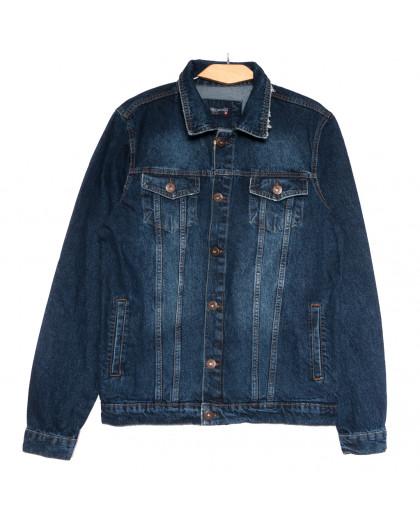 0479 темно-синяя Redmoon куртка джинсовая мужская осенняя коттоновая (S-XL, 4 ед.) REDMOON