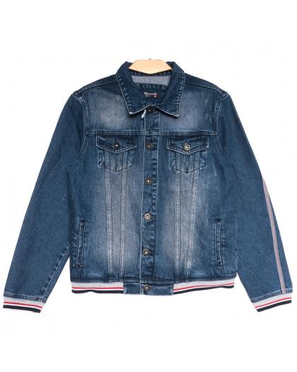 0320 Redmoon куртка джинсовая мужская синяя осенняя коттоновая (S-XL, 4 ед.) REDMOON