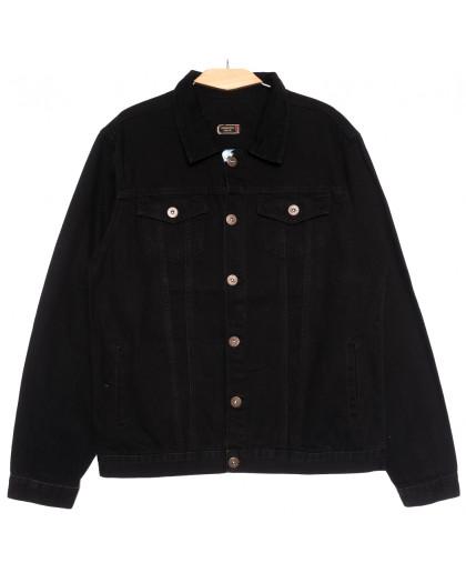 0265 Redmoon куртка джинсовая мужская черная осенняя коттоновая (XL-4XL, 4 ед.) REDMOON