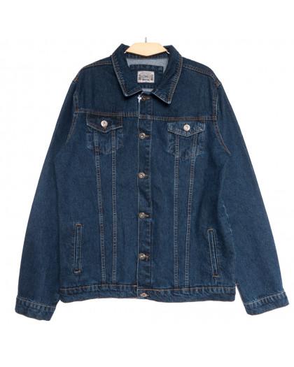 0548 Redmoon куртка джинсовая мужская синяя осенняя коттоновая (3XL-6XL, 4 ед.) REDMOON