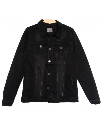 0621 Redmoon куртка джинсовая мужская черная осенняя стрейчевая (S-XL, 4 ед.) REDMOON