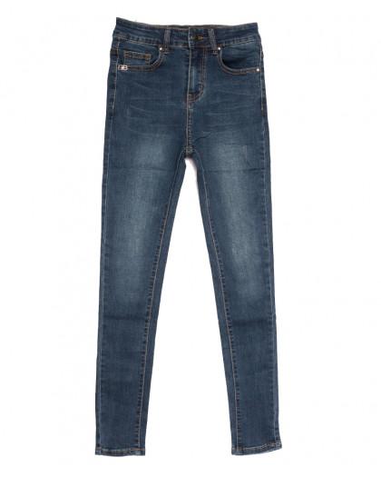 0533 New jeans американка синяя осенняя стрейчевая (25-30, 6 ед.) New Jeans