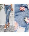 3626 New jeans мом синий весенний коттоновый (25-30, 6 ед.): артикул 1103395