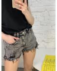 0055-9 A Relucky шорты серые женские стрейчевые (6 ед. размеры: 25.26.27.28.29.30): артикул 1120053