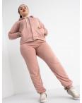 15111-4 Mishely пудра женский спортивный костюм батальный из двунитки (4 ед. размеры: 50.52.54.56) : артикул 1118244