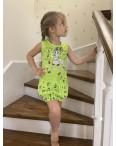 1624-01 платье на девочку 2-6 лет с принтом микс из 3-х цветов (5 ед. размеры: 6/2.8/2.10): артикул 1121114