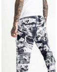 0405 белые спортивные штаны мужские из двунитки (5 ед. размеры: 46.48.50.52.54) выдача заказов 06.05.: артикул 1121121