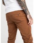 5769 LS брюки мужские коричневые стрейчевые (7 ед. размеры: 28.29.30.31.32.33.34): артикул 1119378