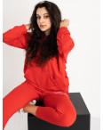 15225-7 Mishely красный женский спортивный костюм из двунитки (4 ед. размеры: S.M.L.XL): артикул 1119948