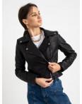 2012 куртка черная женская из кожзама (5 ед. размеры: S.M.L.XL.XXL) : артикул 1123231
