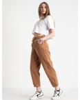 3293-01 джинсы-балоны коричневые котоновые (6 ед. размеры: 26.28/2.30/2.32): артикул 1120844