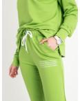 15115-26 Mishely салатовый спортивный костюм женский из двунитки  (4 ед. размеры: S.M.L.XL): артикул 1121780