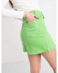 0004-11 Arox юбка женская зеленая котоновая (4 ед. размеры: 34.36.38.40): артикул 1118715