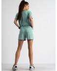 8340-8 бирюзовый женский костюм трикотажный (4 ед. размеры: S.M.L.XL): артикул 1123388