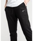1621-11 Mishely черные мужские спортивные штаны из двунитки (4 ед. размеры: M.L.XL.2XL): артикул 1118899