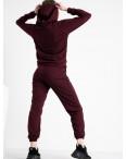 1467-14 Mishely бордовый спортивный костюм из двунитки (4 ед. размеры: S.M.L.XL): артикул 1118142