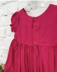 0264-3 платье малиновое на девочку 1-3 года (3 ед. размеры : 80.92.104): артикул 1121515