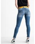 9321-570 Colibri джинсы женские голубые стрейчевые (6 ед. размеры: 25.26.27.28.29.30): артикул 1118807