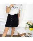 0028-138 Arox юбка полубатальная черная котоновая (6 ед. размеры: 42.44.46.46.48.50): артикул 1118556