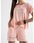8340-5 светло-розовый женский костюм трикотажный (4 ед. размеры: S.M.L.XL): артикул 1123389
