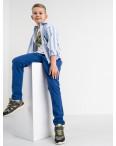 1911 Boston Public белая рубашка в полоску на мальчика 7-15 лет (5 ед. размеры: 30/31.32/33.33/34.34/35.35/36): артикул 1118419
