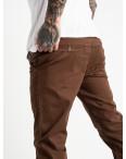 5768 LS брюки мужские темно-коричневые стрейчевые (7 ед. размеры: 28.29.30.31.32.33.34): артикул 1119377