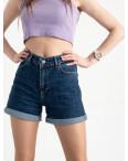 2043 MOM шорты женские синие котоновые (6 ед. размеры: 25.26/2.28.30.32): артикул 1120524