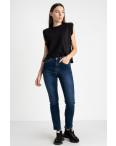 5030 New Jeans американка полубатальная синяя стрейчевая (6 ед. размеры: 28.29.30.31.32.33): артикул 1123637