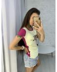 3706-01 футболка женская микс цветов без выбора цветов (3 ед. размеры: универсал 42-44): артикул 1123365