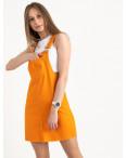 2907-6 Defile сарафан джинсовый оранжевый котоновый  (6 ед. размеры: 34.36/2.38/2.40): артикул 1122047