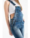 3315-1 Y Relucky комбинезон джинсовый женский синий стрейчевый ( 6 ед. размеры: 25.26.27.28.29.30): артикул 1110603