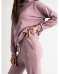 15222-14 Mishely розовый женский спортивный костюм из двунитки (4 ед. размеры: S.M.L.XL): артикул 1123284