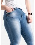 1255 Lady N джинсы батальные женские голубые стрейчевые (6 ед. размеры: 31.32.33.34.36.38): артикул 1088397
