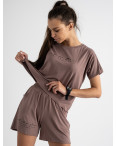 8340-7 мокко женский костюм трикотажный (4 ед. размеры: S.M.L.XL): артикул 1123386