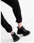 15222-1 Mishely черный женский спортивный костюм из двунитки (4 ед. размеры: S.M.L.XL): артикул 1117827
