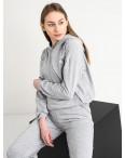 15222-2 серый женский спортивный костюм из двунитки (4 ед. размеры: S.M.L.XL): артикул 1118000
