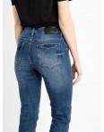 0546-8 A Relucky джинсы полубатальные женские синие стрейчевые (6 ед. размеры: 28.29.30.31.32.33): артикул 1120683