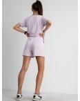 8340-9 лавандовый женский костюм трикотажный (4 ед. размеры: S.M.L.XL): артикул 1123384
