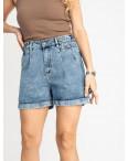 0032-8 T Relucky шорты полубатальные женские голубые стрейчевые (6 ед. размеры: 28.29.30.31.32.33): артикул 1120049