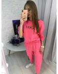 9008-2 розовый спортивный костюм женский батальный ( 5 ед. размеры: 46.48.50.52.54) : артикул 1122837