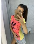 3705-11 футболка женская микс цветов без выбора цветов (6 ед. размеры: универсал 42-44): артикул 1123366