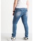 1256 Lady N джинсы батальные женские голубые стрейчевые (6 ед. размеры: 31.32.33.34.36.38): артикул 1088395