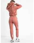 1523-4 Mishely терракотовый женский спортивный костюм из двунитки (4 ед. размеры: S.M.L.XL): артикул 1122172