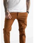 5767 LS брюки мужские теракотовые стрейчевые (7 ед. размеры: 28.29.30.31.32.33.34): артикул 1119376